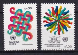 United Nations Genève YT** 103-104 - Nuevos