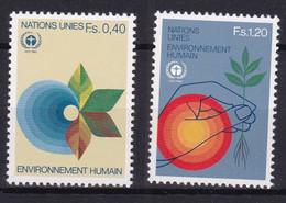 United Nations Genève YT** 105-106 - Nuevos