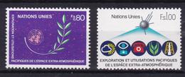 United Nations Genève YT** 107-108 - Nuevos