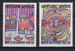 United Nations Genève YT** 117-118 - Nuevos