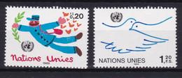 United Nations Genève YT** 131-132 - Nuevos