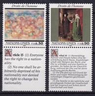 United Nations Genève YT** 216-221 - Unused Stamps