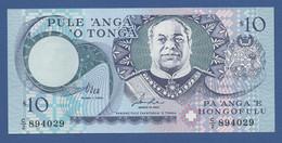 TONGA - P.34a – 10 PA'ANGA 1995 - UNC - Tonga