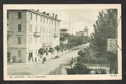 MODENA VIA F. PRAMPOLINI VG. 1939 F.TO PICCOLO N°B126 - Modena