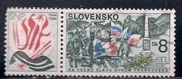 SLOVAQUIE  N°   166    OBLITERE - Usados