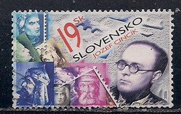 SLOVAQUIE  N°   475    OBLITERE - Usados