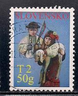 SLOVAQUIE  N°   498   OBLITERE - Usados