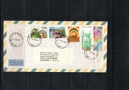Brazil 1987 Interesting Airmail Letter - Cartas