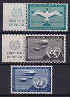 United Nations New York Aero YT** 1-4 - Poste Aérienne