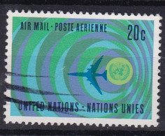 United Nations New York Aero YT° 13 - Poste Aérienne