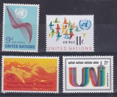 United Nations New York Aero YT** 15-18 - Poste Aérienne