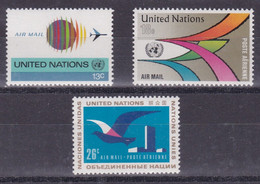 United Nations New York Aero YT** 19-21 - Poste Aérienne