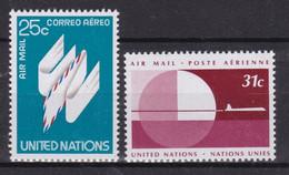 United Nations New York Aero YT** 22-23 - Poste Aérienne