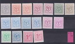 Belgie Postfris YT** 849-859 - 1951-1975 Lion Héraldique
