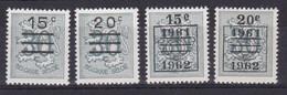 Belgie Postfris YT** 1172-1173 - 1951-1975 Lion Héraldique