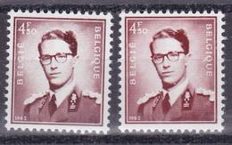 Belgie Postfris YT** 1068 + Fos - 1953-1972 Anteojos