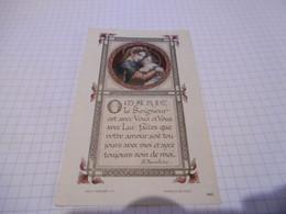 21C - Image Maredret Marie Saint Anselme Dos Inscription Manuscrite - Santini