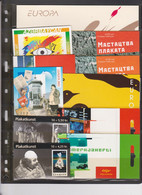 2003 Europa-CEPT Poster Art Complete Year Set Of Booklets - 2003