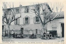 Saint Andiol - Hotel De France - Vve Lecoq Cuisine Provencale Renommée - Garage - Autres Communes