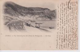 CPA Précurseur Algérie - Stora - Vue Générale Prise De La Route De Philippeville - Annaba (Bône)