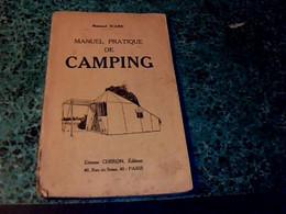 Vieux Papier Livre Manuel Pratique Du Camping Familial Année 1928 ,76 Pages - Otros