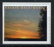 België 3984A - Rouwzegel - Timbre De Deuil - WIT Papier - Papier BLANC - Uit B109A - Links Ongetand - Non Dent. à Gauche - Ongebruikt