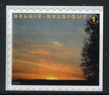 België 3984Aa - Rouwzegel - Timbre De Deuil - WIT Papier - Papier BLANC - Uit B109A - Rechts Ongetand - N Dent. à Droite - Ongebruikt