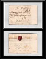 9995 Lsc Cachet Entree Maritime Salle N°2 CAYENNE GUYANE 1774 Bellemare Basse Normandie Marque Postale France Lettre - Briefe U. Dokumente