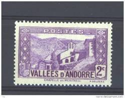 Andorre  :  Yv  25  ** - Unused Stamps