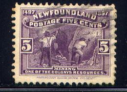 NEWFOUNDLAND, NO. 65 - 1865-1902