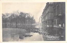 75 - PARIS - Inondations De 1910 ( Crue De La Seine ) Rue De Constantine - CPA - Hauts De Seine - De Overstroming Van 1910