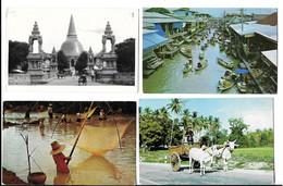 THAILAND - SIAM , 7 POSTCARDS . - Thailand