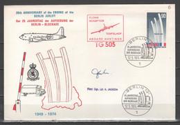 Berlino 1974 - 25° Anniversario Della Fine Del Ponte Aereo           (g7327) - Cartas