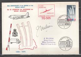 Berlino 1974 - 25° Anniversario Della Fine Del Ponte Aereo           (g7328) - Cartas