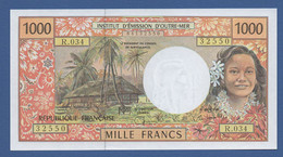 FRENCH PACIFIC TERRITORIES - P.2h – 1.000 FRANCSND - UNC - French Pacific Territories (1992-...)