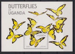 Uganda - 1984 - Bloc Feuillet BF N° Yv. 45 - Papillons / Butterflies - Neuf Luxe ** / MNH / Postfrisch - Butterflies