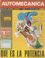 Revista Automecánica Nº 1. Mayo 1969. Automec-1 - Other