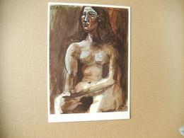 Femme Assise Nu ( Sitzende Frau  Dora Maar 28.11.1941 ( Neuve ) Pablo Picasso - Paintings