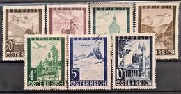 AUSTRIA 1947 - Canceled - ANK 820-826 - Complete Set! - 1945-60 Used