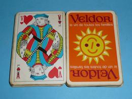 Rare Ancien Jeu 32 Cartes Publicitaire, Pub VELDOR, Vin - 32 Cards