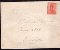 Argentina - 1917 - Lettre - Heroes Nacionales - Gral. Jose De San Martin - A1RR2 - Cartas