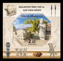 Turkey 2019 Mih. 4550 (Bl.194) Arslantepe Archeological Site And Open-Air Museum MNH ** - Nuevos