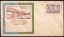 Brasil - 1945 - FDC - Puente Internacional - A1RR2 - Briefe U. Dokumente