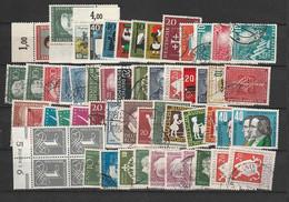 BRD Umfangreicher Bestand Auf Lagerkarten - Mezclas (min 1000 Sellos)