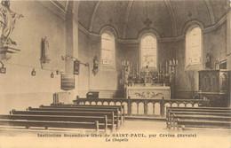 """CPA FRANCE 73 """"Cévins, Institution Saint Paul, La Chapelle"""" - Altri Comuni"""