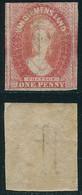 TASMANIE Année 1857  1860 N° 10 Filigrane Chiffre à Double Trait - Voir Photo - Ohne Zuordnung