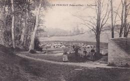 """LE PERCHAY """" Le Lavoir Tres Animée , RARE """"     N°9666 - Unclassified"""