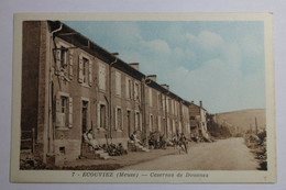 Cpa Couleur Ecouviez Meuse Caserne Des Douanes - EB14 - Sonstige Gemeinden