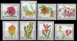 1102/1109** - Fleurs IV / Bloemen IV / Blumen IV / Flowers IV - RWANDA - 1980-89: Neufs