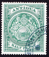 ANTIGUA 1908KGV ½d Green SG41FU - 1858-1960 Kronenkolonie